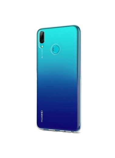 Microsonic Huawei P Smart 2019 Kılıf Transparent Soft  Beyaz